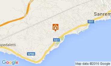 Mappa Sanremo Appartamento 104498
