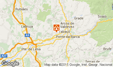 Mappa Arcos de Valdevez Agriturismo 72429