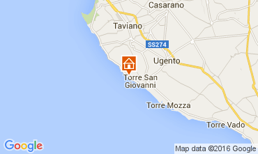 Mappa Ugento - Torre San Giovanni Monolocale 105887