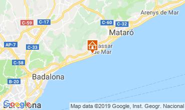Mappa Barcellona Appartamento 117575