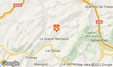 Mappa Le Grand Bornand Chalet 101638