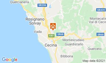 Mappa Cecina Appartamento 109192