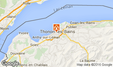 Mappa Thonon Les Bains Appartamento 102720