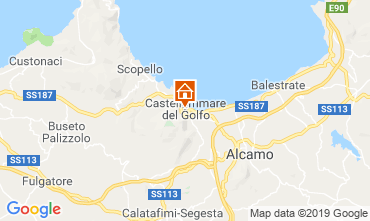 Mappa Castellammare del Golfo Appartamento 118813