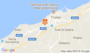 Mappa Tropea Appartamento 113978