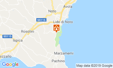 Mappa Noto Villa  118189