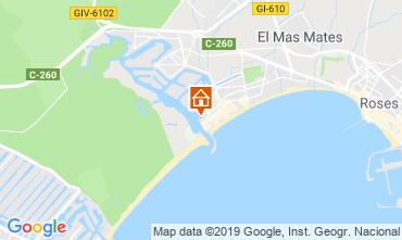 Mappa Rosas Appartamento 8285