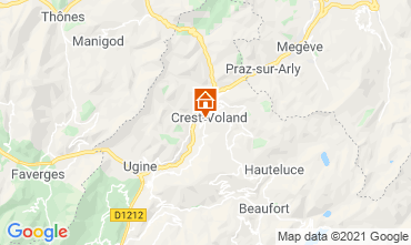 Mappa Crest Voland Cohennoz Appartamento 61386