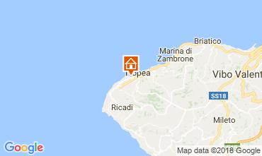 Mappa Tropea Appartamento 114017
