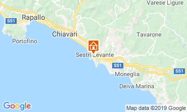 Mappa Sestri Levante Appartamento 117846
