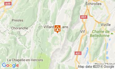Mappa Villard de Lans - Corrençon en Vercors Monolocale 74588