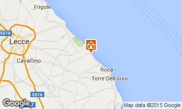 Mappa San Foca Villa  85195