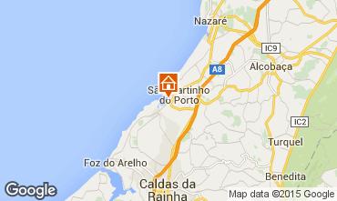 Mappa São Martinho do Porto Appartamento 17185