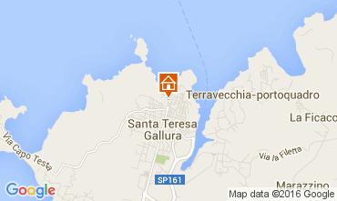 Mappa Santa Teresa di Gallura Appartamento 105883