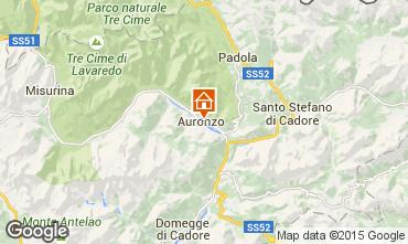 Mappa Auronzo di Cadore Appartamento 95424