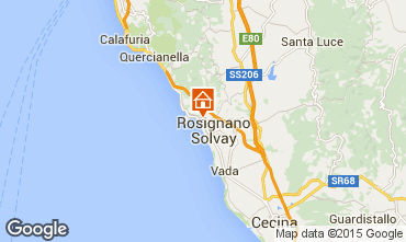 Mappa Castiglioncello Appartamento 95463