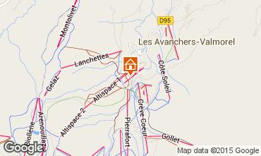 Mappa Valmorel Appartamento 16095