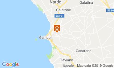 Mappa Gallipoli Villa  118430