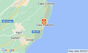 Mappa Cala Liberotto Appartamento 16510