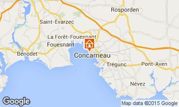 Mappa Concarneau Appartamento 86139