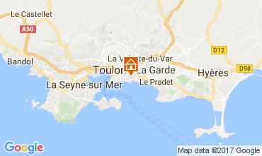 Mappa Tolone Villa  110245
