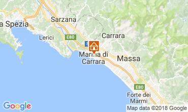 Mappa Marina di Carrara Appartamento 112472