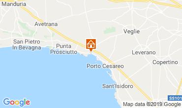 Mappa Porto Cesareo Appartamento 111282