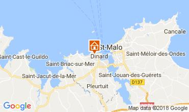 Mappa Dinard Casa 113225