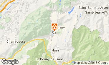 Mappa Oz en Oisans Monolocale 74603