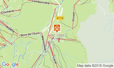 Mappa Les Arcs Monolocale 209