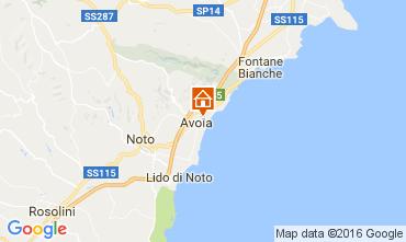 Mappa Avola Villa  75699