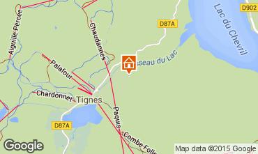 Mappa Tignes Monolocale 3155