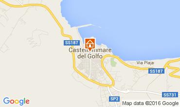 Mappa Castellammare del Golfo Appartamento 104447