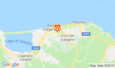 Mappa Gargano Appartamento 46863