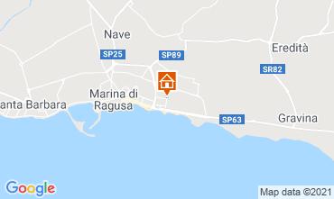 Mappa Marina di Ragusa Monolocale 118644