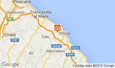 Mappa Ortona Casa 104190