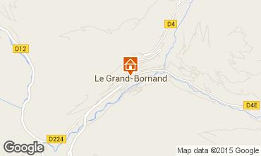 Mappa Le Grand Bornand Monolocale 42969
