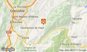 Mappa Chamrousse Chalet 88811
