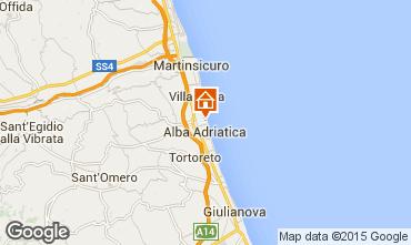 Mappa Alba Adriatica Appartamento 93590