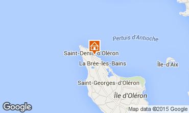 Mappa Saint Denis d'Oléron Villa  80154