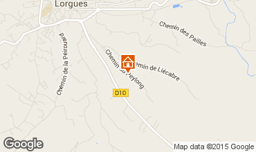 Mappa Lorgues Villa  94920