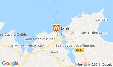 Mappa Dinard Appartamento 117536