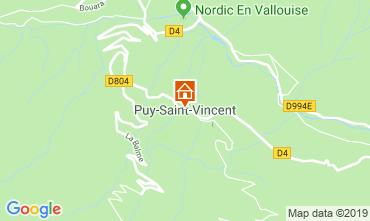 Mappa Puy Saint Vincent Appartamento 92347