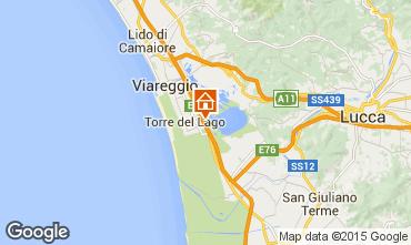 Mappa Viareggio Appartamento 87984