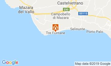 Mappa Mazara del Vallo Villa  105374