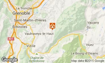 Mappa Chamrousse Appartamento 35627