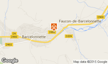Mappa Barcelonnette Appartamento 79291