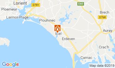 Mappa Etel/Ria d'Etel Appartamento 116267