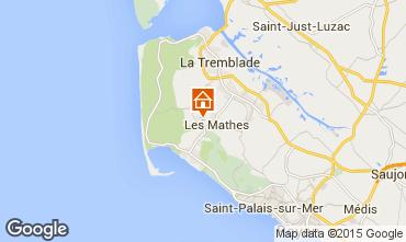 Mappa Les Mathes Casa mobile 77782