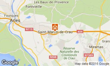 Mappa Arles B&B 84910